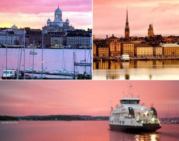 Круиз Стокгольм (Швеция) - Хельсинки (Финляндия)