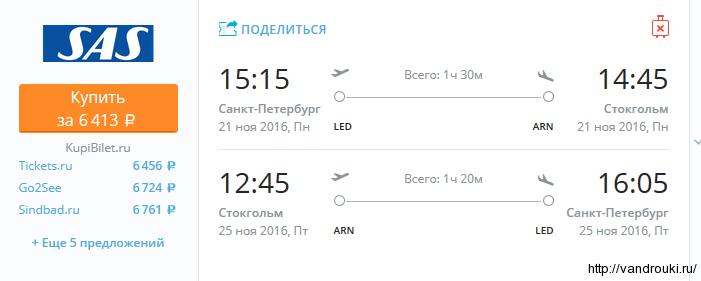 Авиабилеты из Санкт Петербурга стоимость расписание
