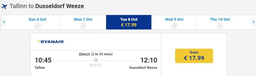 Распродажа Ryanair: полеты по Европе со скидкой 20%! - dddd