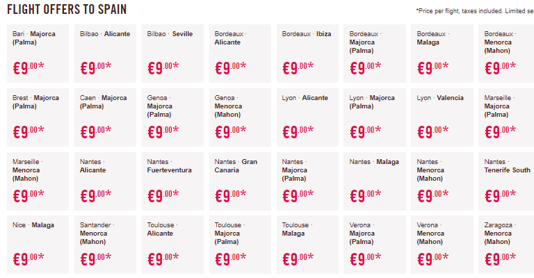 Билеты на самолеты по Европе за 640 рублей!