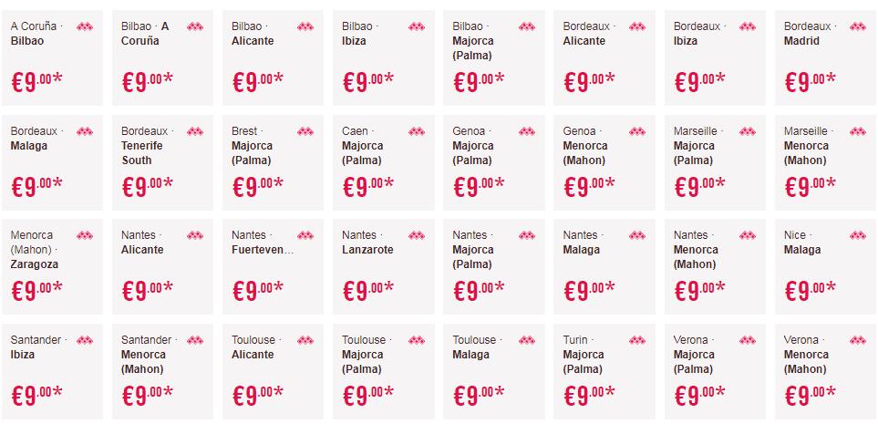 Распродажа Volotea: полеты по Европе всего за 640 рублей!