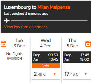 Распродажа EasyJet: полеты по Европе всего за 36 рублей!