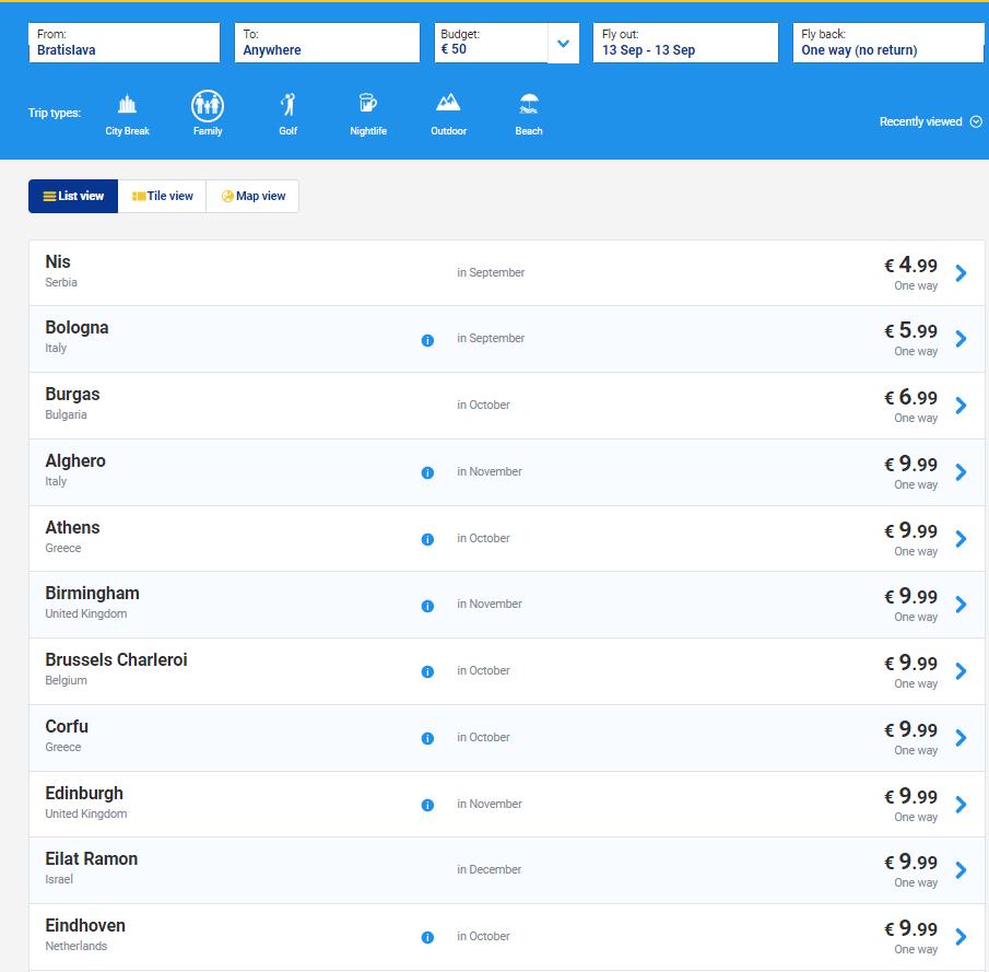 Распродажа Ryanair: полеты по Европе, в Северную Африку и на Ближний Восток от 4,99 евро. - Screenshot_95
