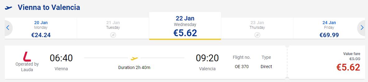 Распродажа Laudamotion: полеты по Европе всего за 390 рублей!