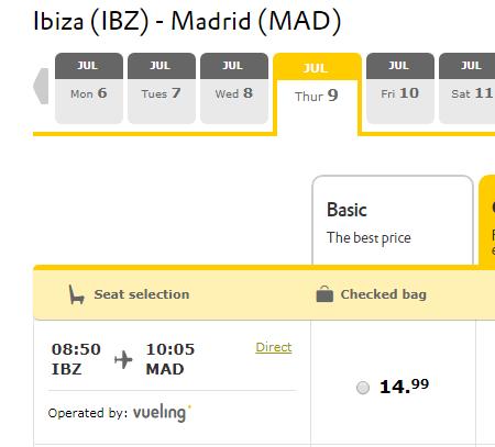 Распродажа Vueling: полеты по Европе от 1000 рублей